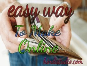 Easy ways to make money online at home