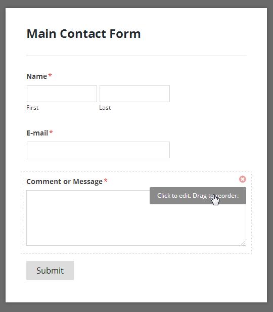 सरल संपर्क फ़ॉर्म टेम्पलेट